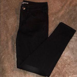 Brand new American eagle black skinny jeans
